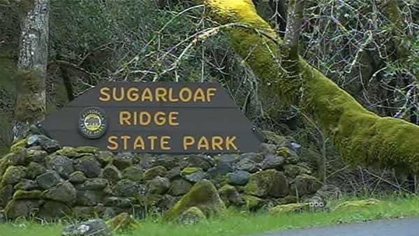 Sugarloaf Ridge State Park Entrance