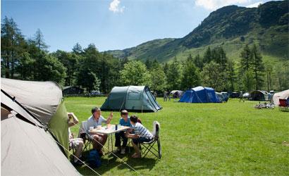 Camping at Sugarloaf